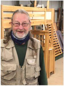Des, volunteer at CFS York